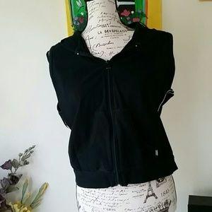Jockey black vest XL